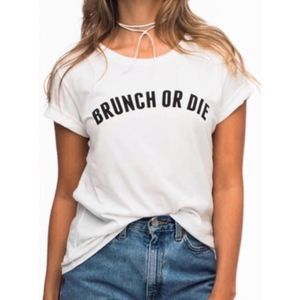 NEW MACY'S SUB URBAN RIOT BRUNCH OR DIE T SHIRT L